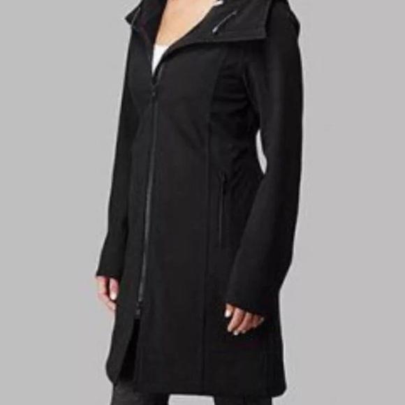 0f5fc0fe90 lululemon athletica Jackets & Blazers - Lululemon Apres Yoga Black Tech  Rain Jacket ...